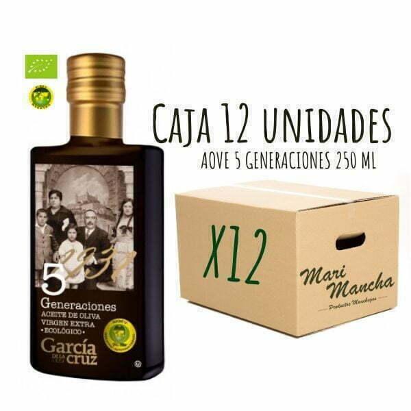 5 Générations de García de La Cruz 250 ml boîte de 12 unités