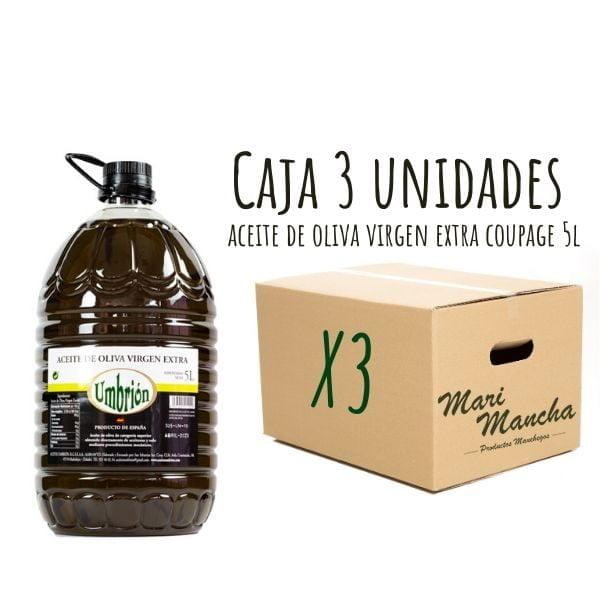 Huile d'olive Coupage Umbrión 5L boîte de 6 unités
