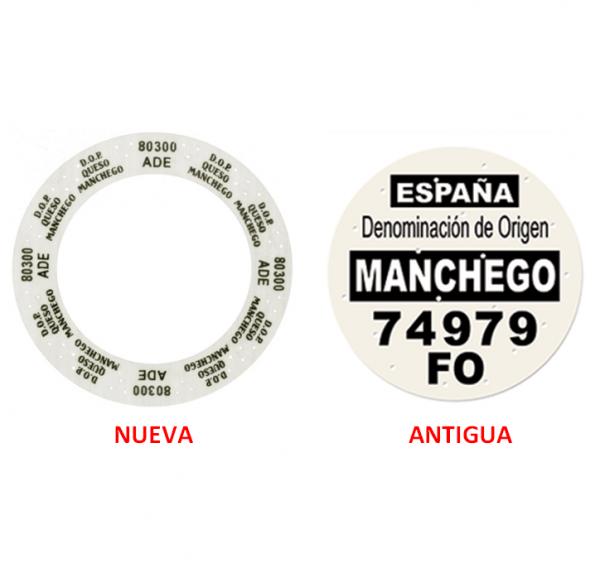 Étiquettes de fromage Manchego