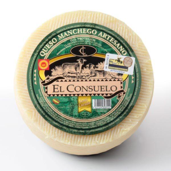 queso el consuelo semicurado grande