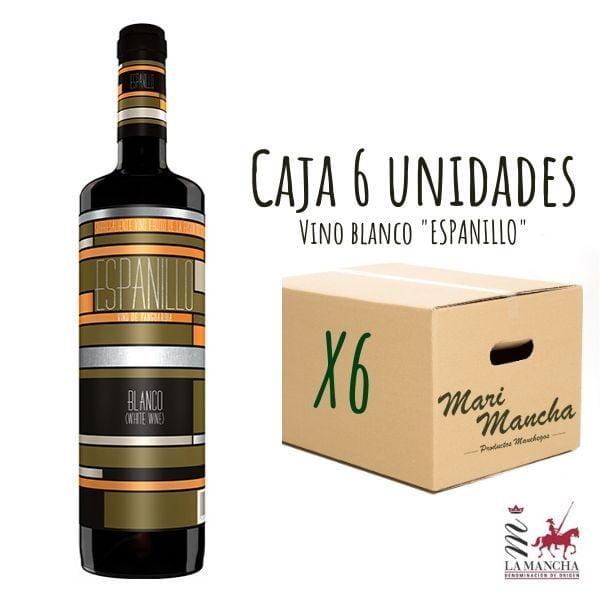 coffret espanillo vin blanc sec de 6 unités