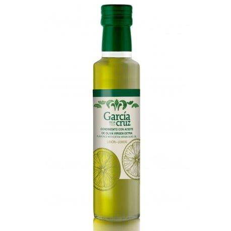 aceite de oliva aromatizado con limón