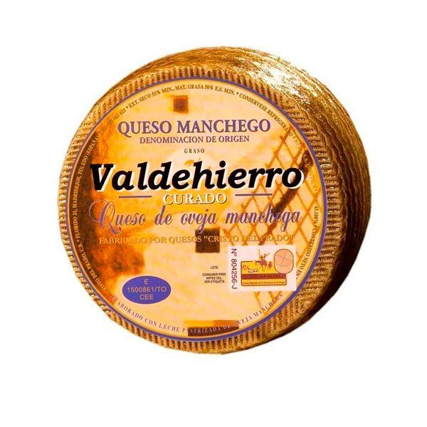 queso curado valdehierro grande