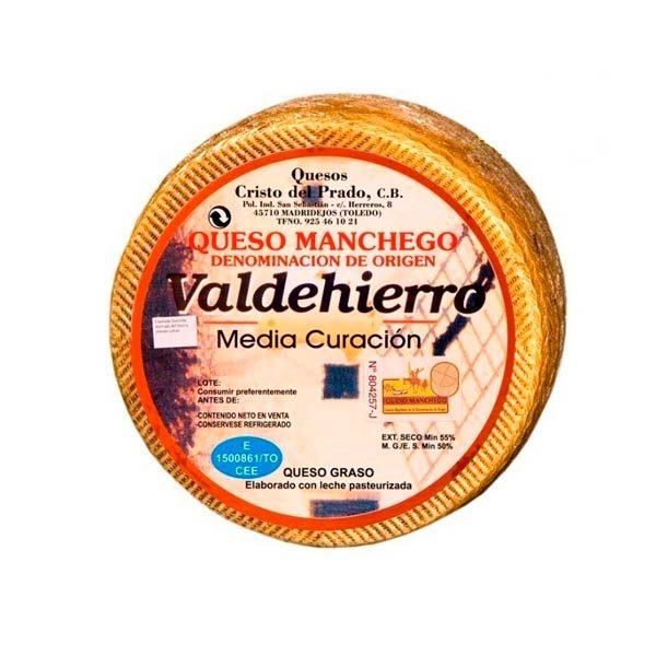 queso manchego semicurado valdehierro grande