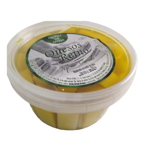 pot de fromage de brebis à l'huile 1