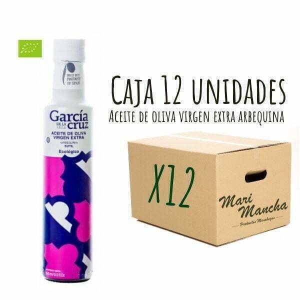 boite de 12 Arbequina biologique de García de La Cruz 250ml