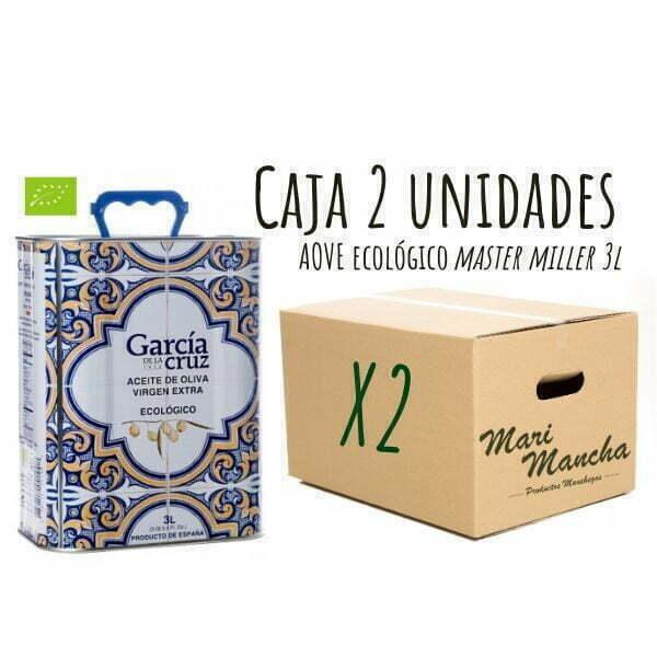 Écologique de García de La Cruz 3L boîte 2 unités