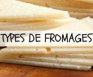 Types de fromage