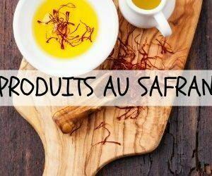 Produits de safran