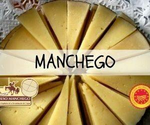 Fromage Manchego avec dénomination d'origine