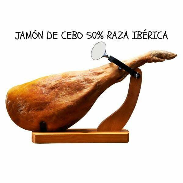 jamón de cebo ibérico de bellota