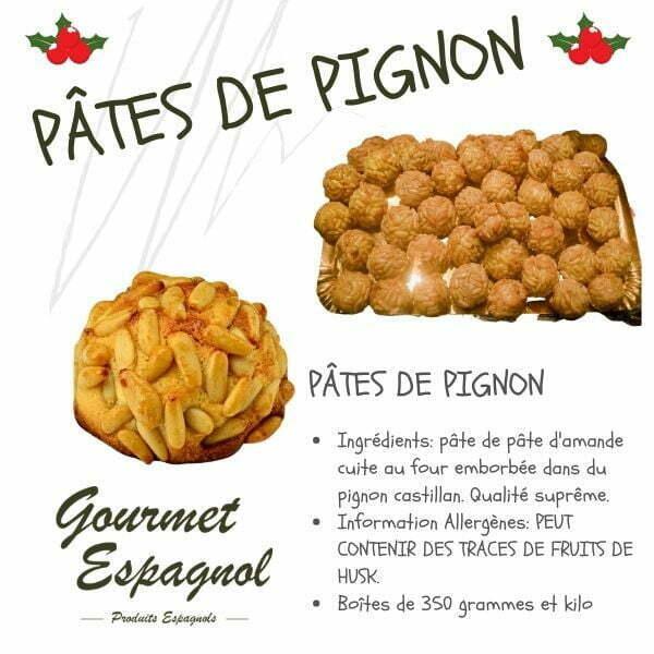 pâtes aux pignons espagnols
