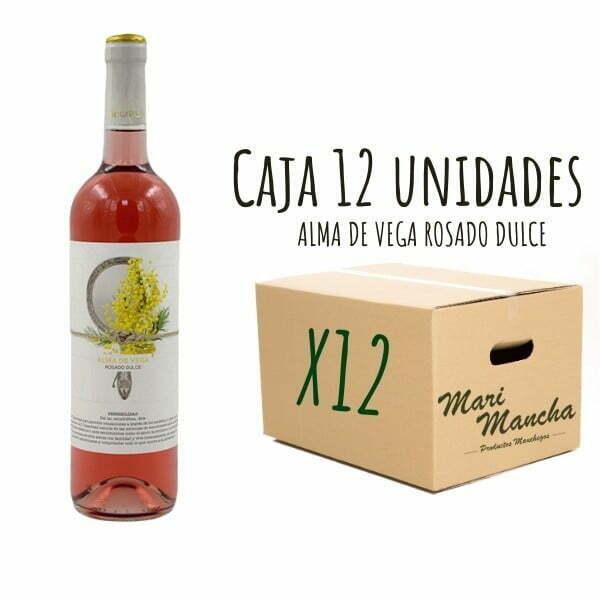 vin rosé doux Alma De Vega 12