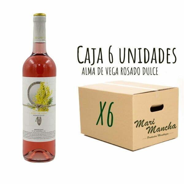 vin rosé doux Alma De Vega 6