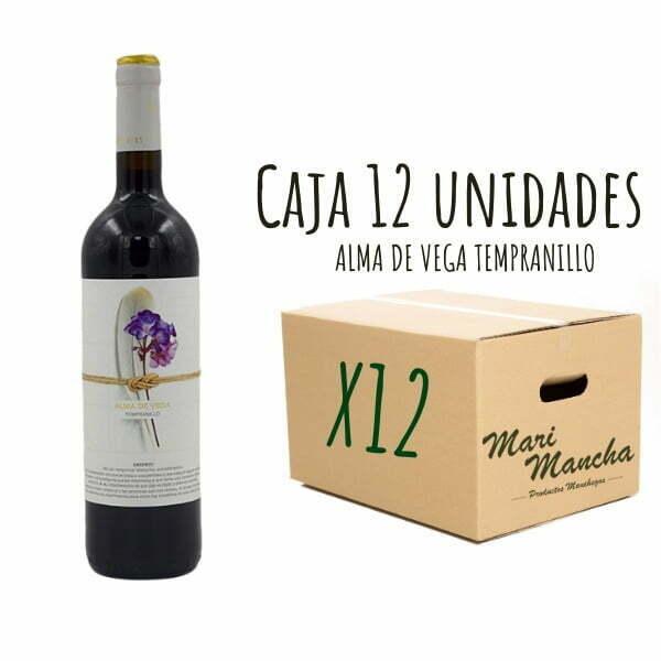 vin rouge Tempranillo Alma De Vega 12