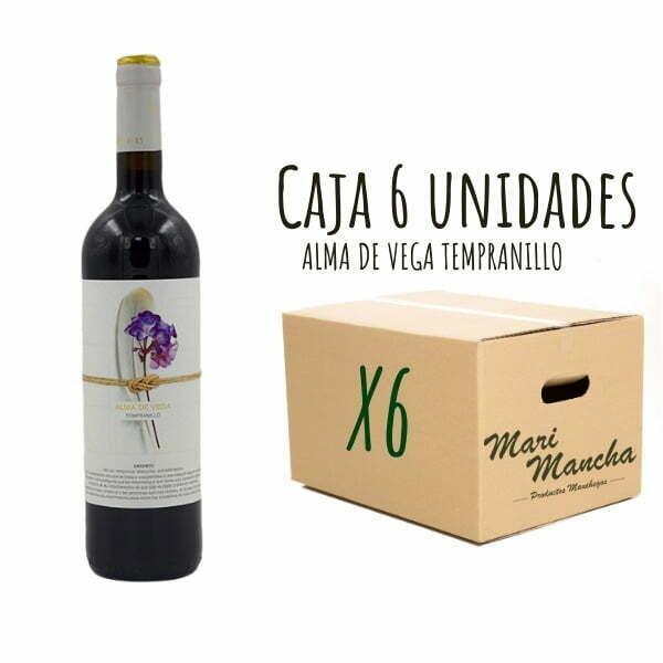 vin rouge Tempranillo Alma De Vega 6