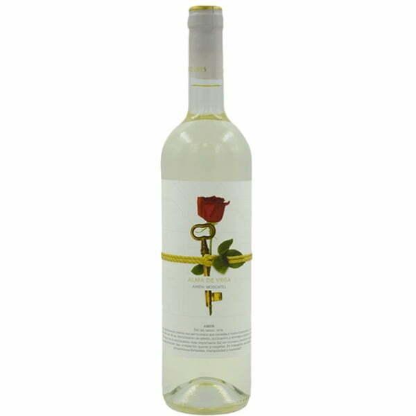 vino blanco airén Alma De Vega