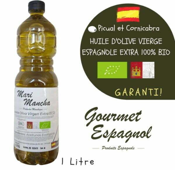 Huile d'olive biologique Marimancha 1 litre